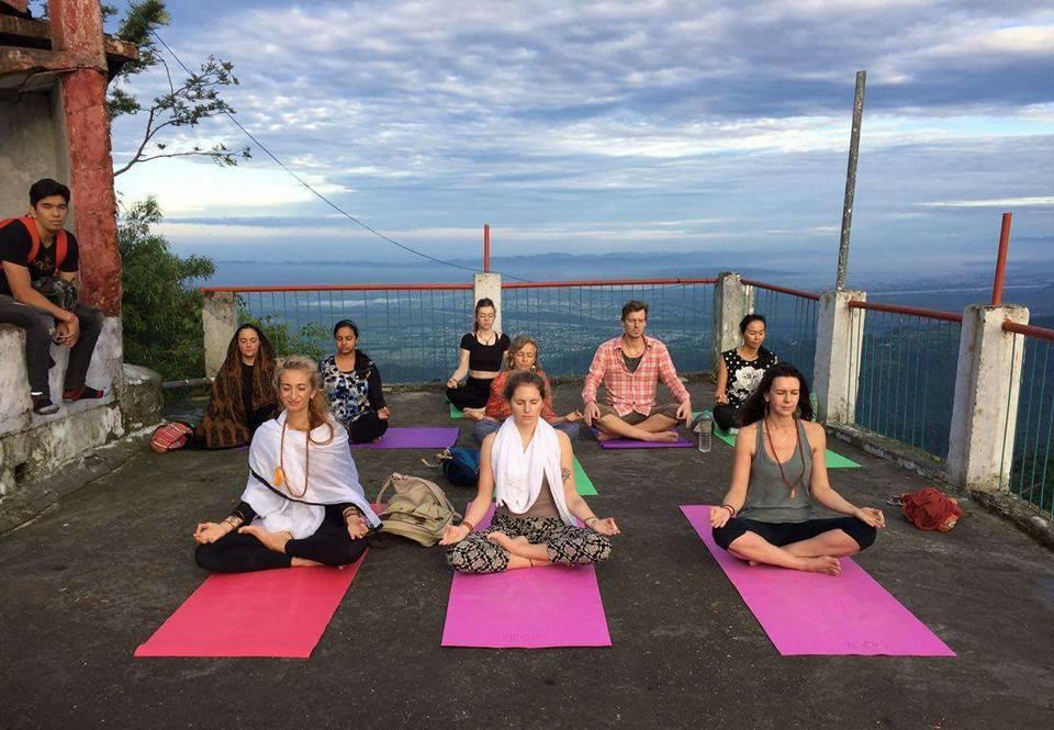 Kunjapuri Temple Sunrise Yoga