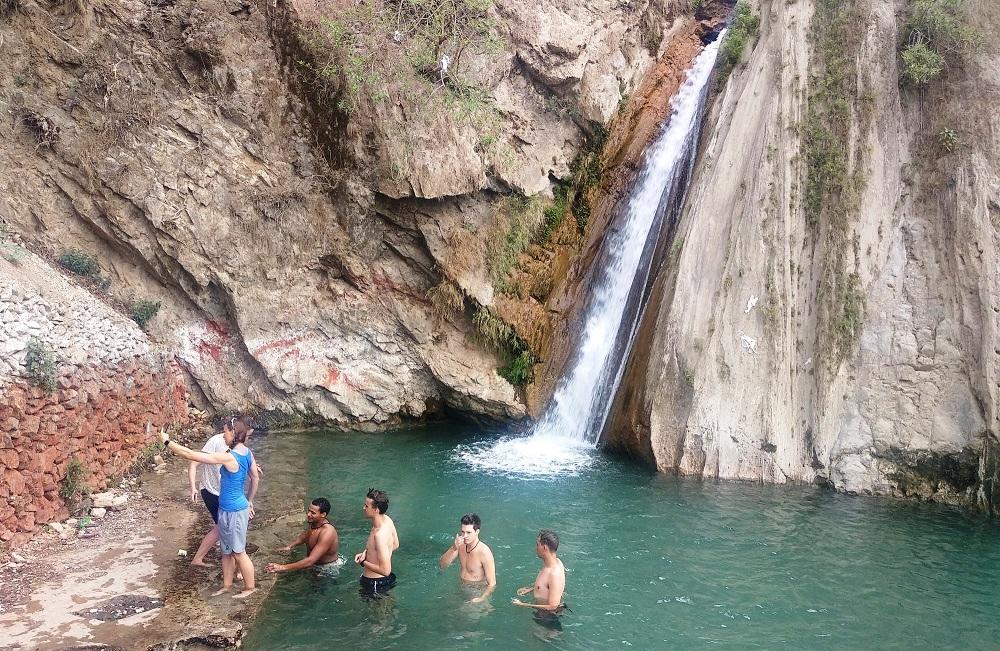 Neer waterfall Trek from Kunjapuri Temple