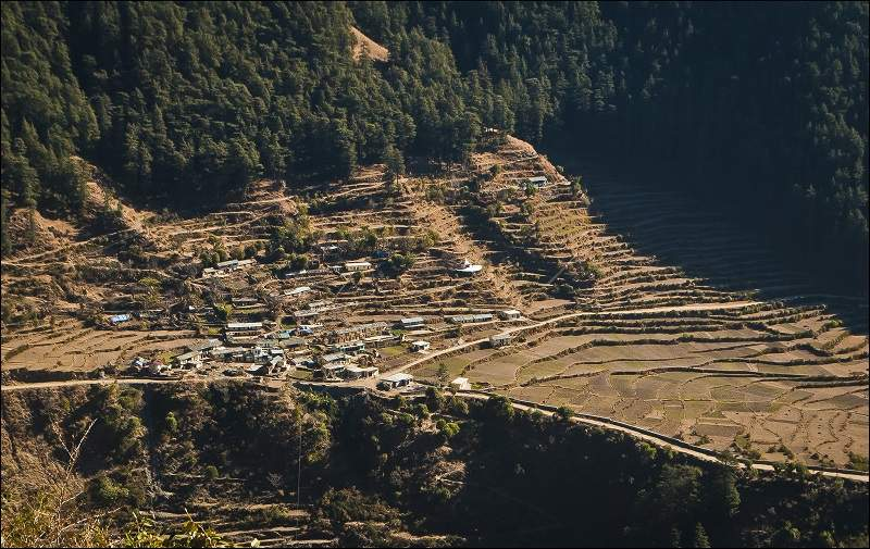 nagtibba village view
