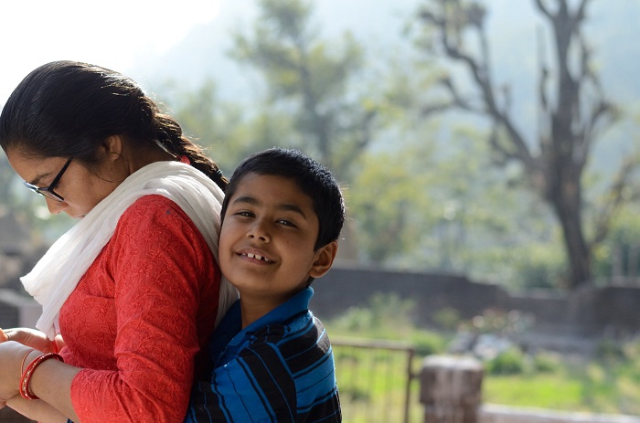 a host family of a Homestay in Rishikesh
