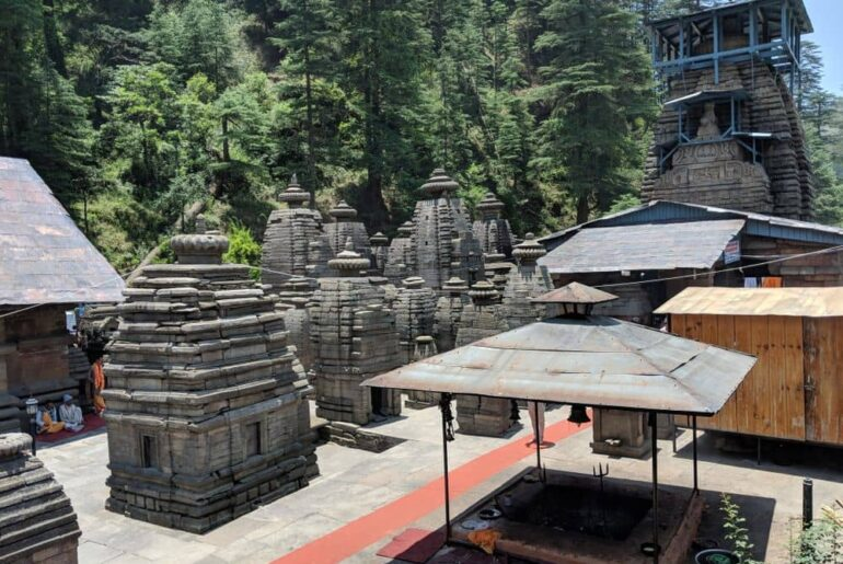 Jageshwar Dham The group of temples of Lord Shiva