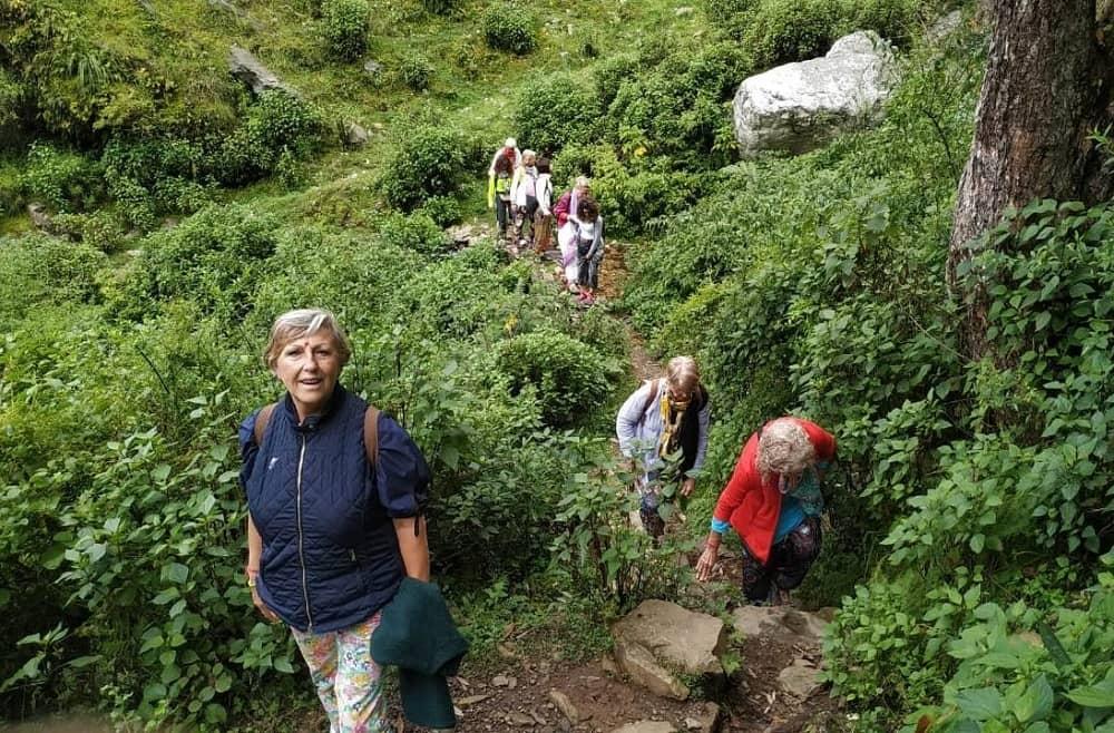 Mahvatar Babaji Cave Trekking Route