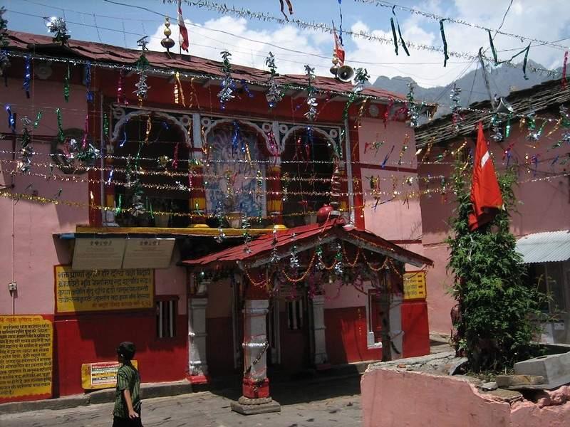 Narsimha temple winter seat of lord Badrivishal