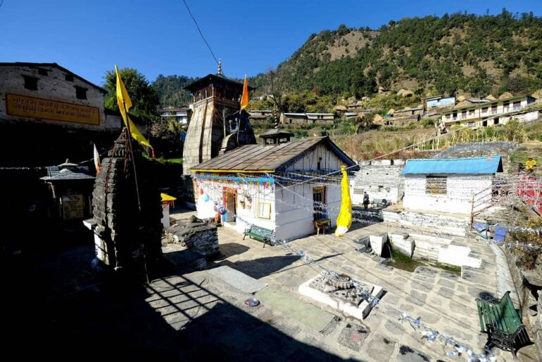 A Divine Wedding Place For Couples-Triyuginarayan Temple