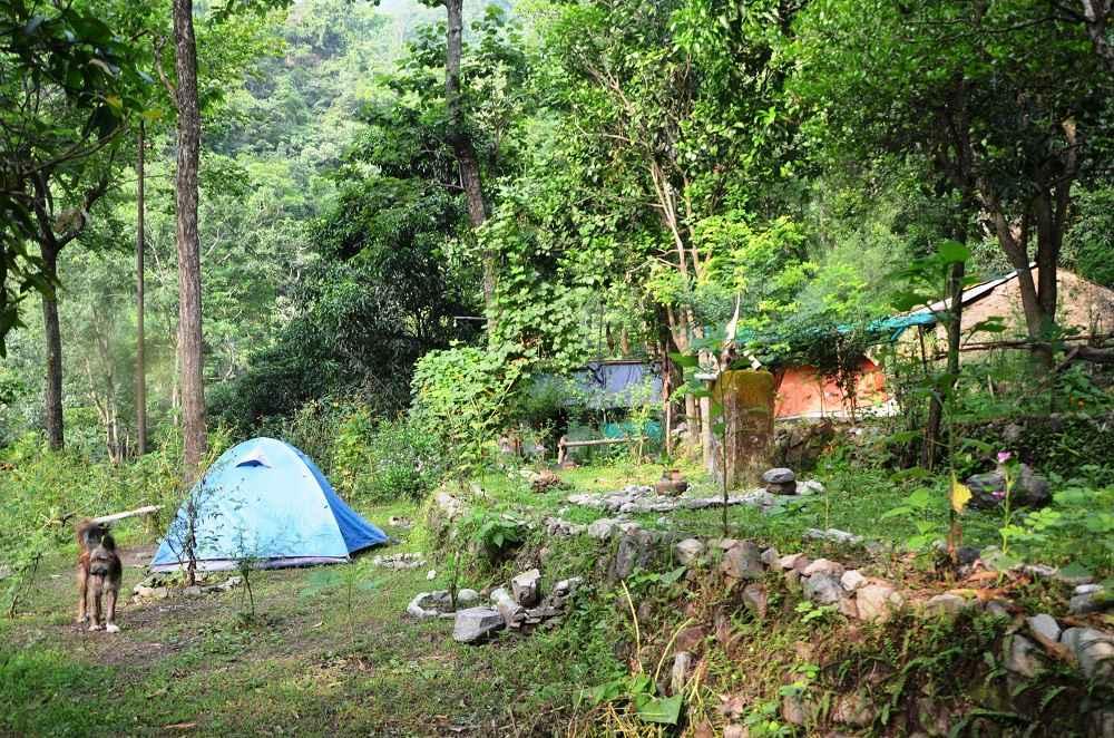 Camping Site at Vatika