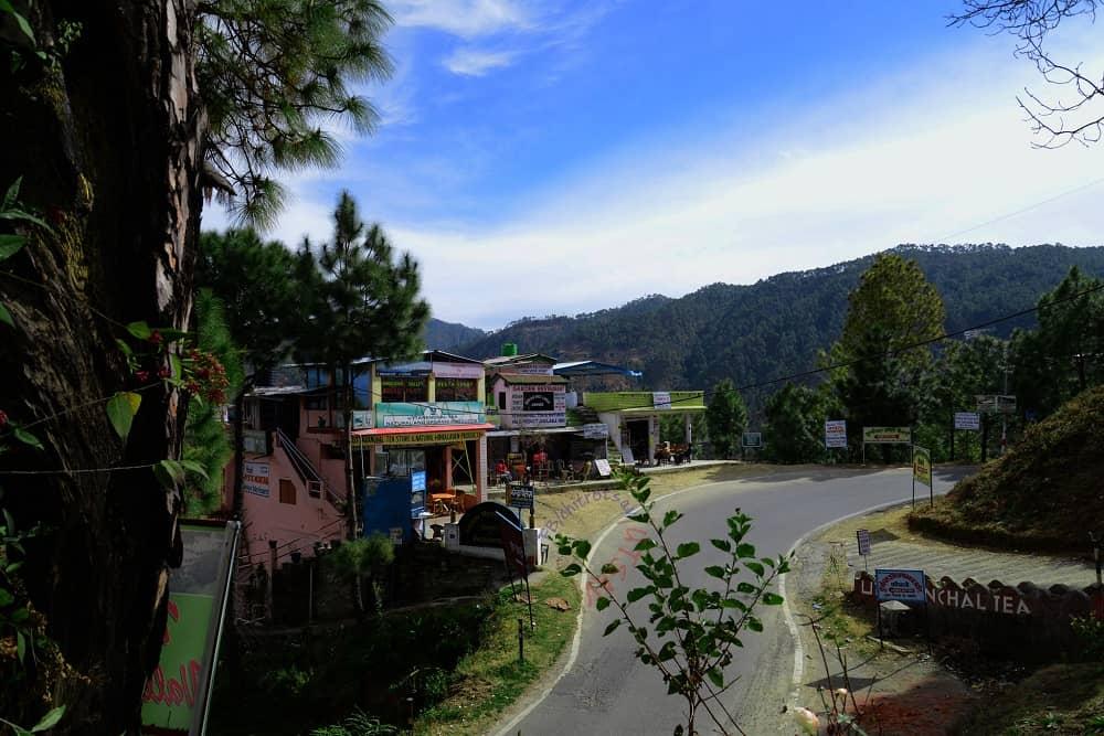 Silent Street of kausani