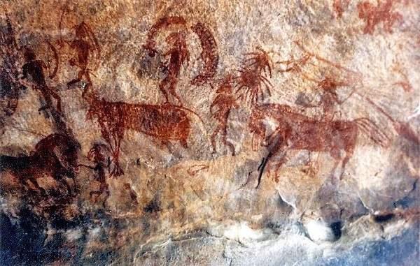lakhudiyar rock painting