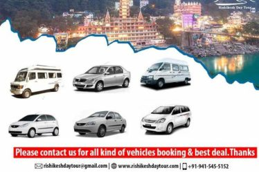Taxi Service from Delhi Airport & Dehradun Airport to Rishikesh
