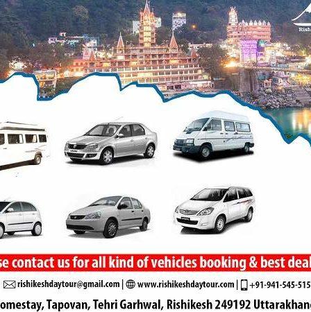 Taxi Service from Delhi Airport & Dehradun Airport to Rishikesh