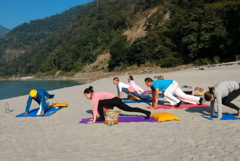 An Ideal Travel Route for Yoga Lover in India