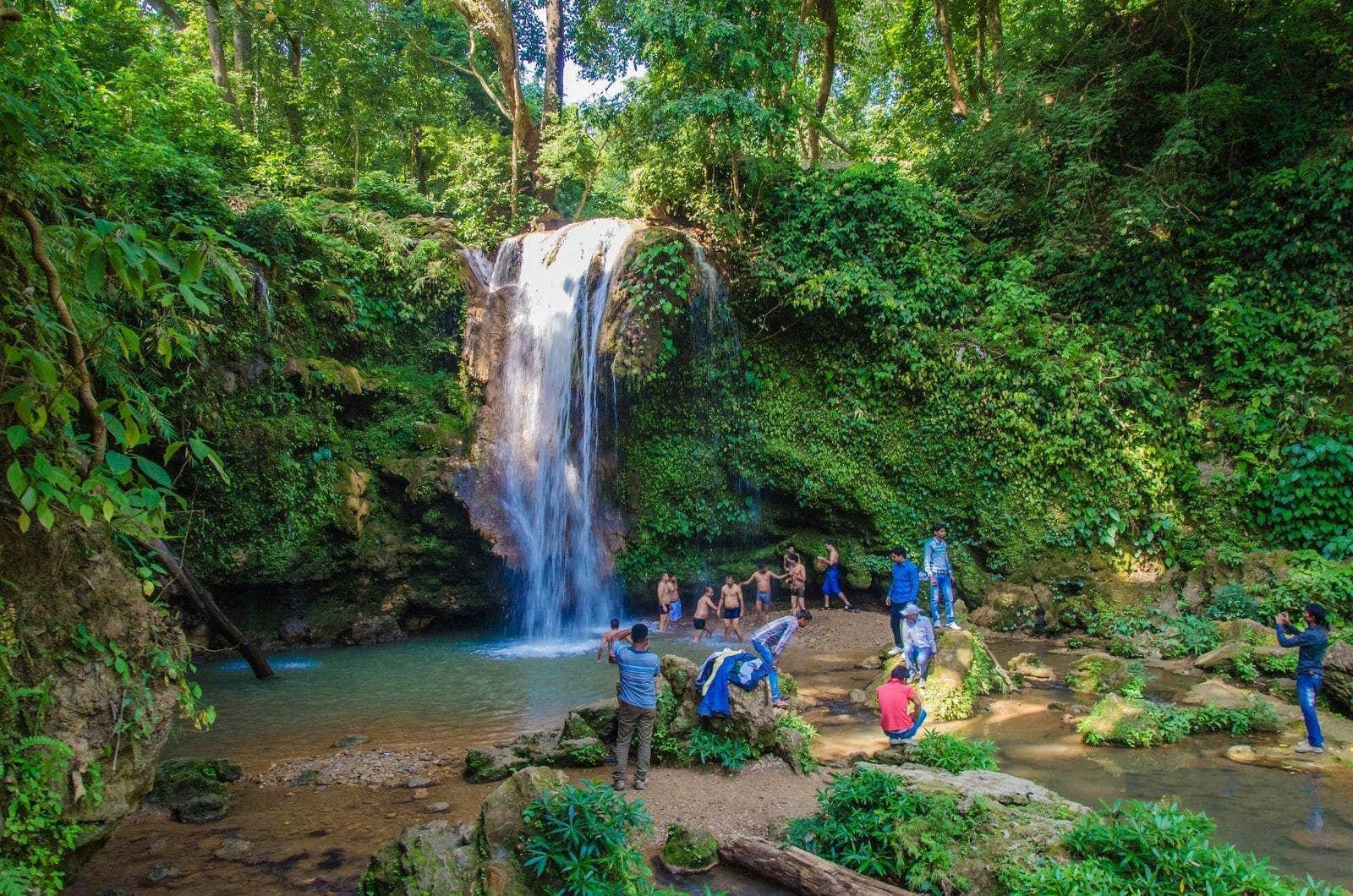 Corbett Fall - Corbett National Park Uttarakhand