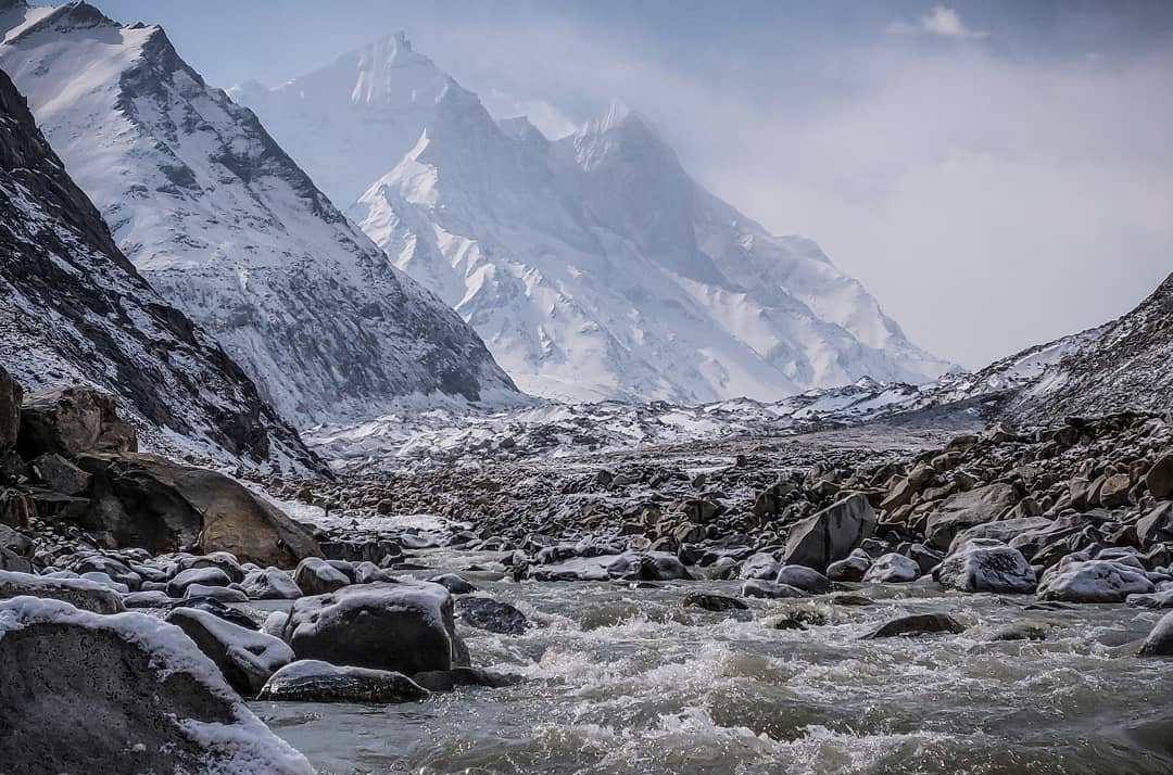 Gomukh - The source of the river Ganges
