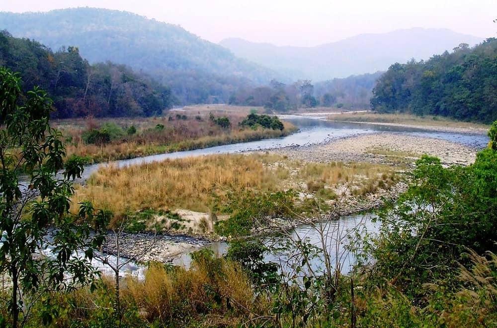 River Koshi Corbett National Park Uttarakhand