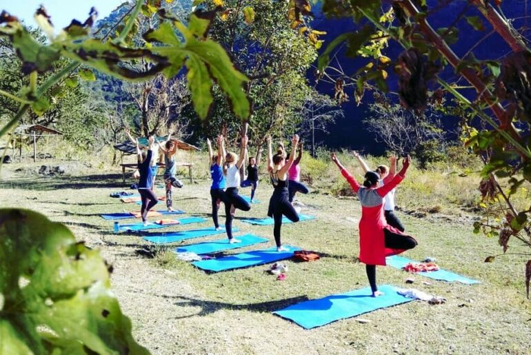 YOGA AND MEDITATION IN RISHIKESH HIMALAYA
