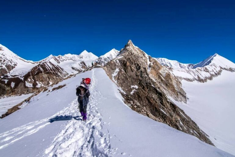 Trekking-Kalindi Pass in Garhwal Himalayas