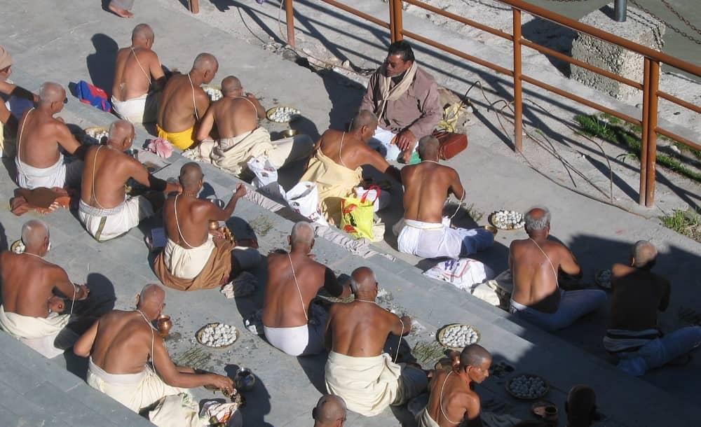 Pind Daan Ritual at Badrinath