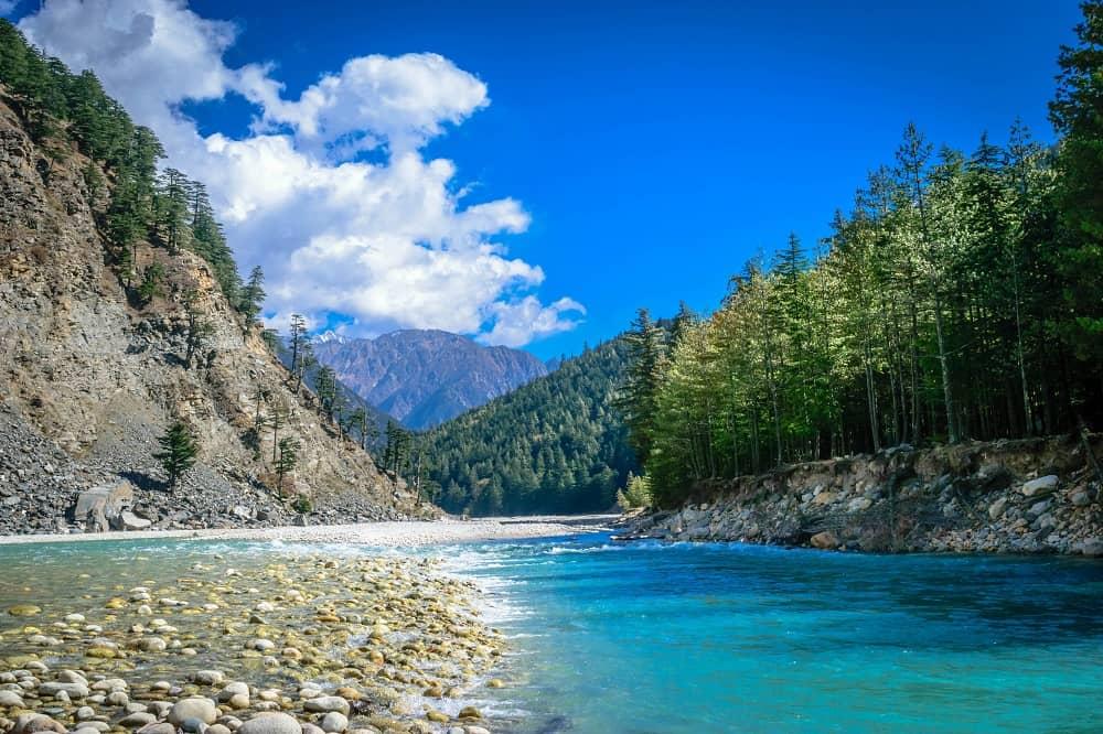 Bhagirathi River Harsil