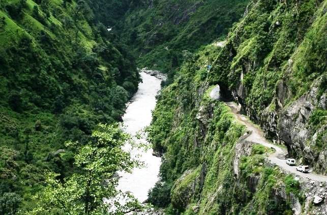 Road Connecting Dahrchula - Malpa Camp