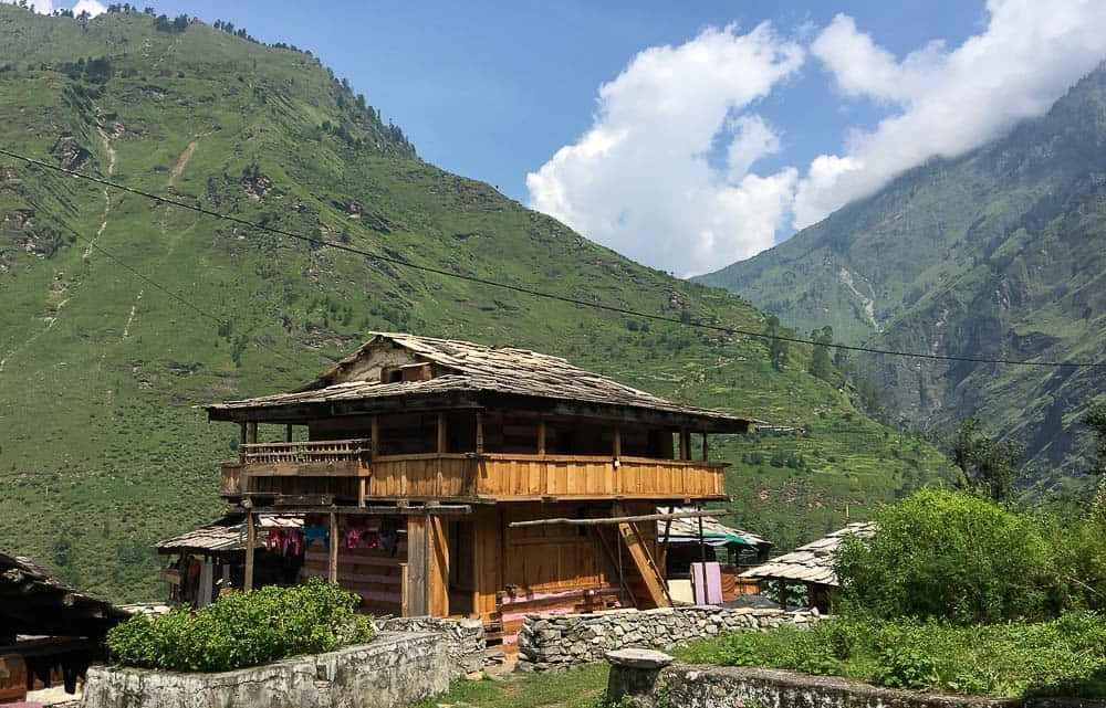Wooden-Structured House Tons Valley Uttarakhand