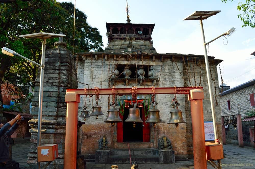 Bagnath Shiva Temple Bageshwar