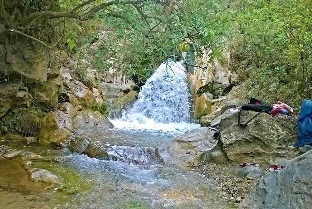 Bhatta Waterfall on Dehradun Mussoorie Highway