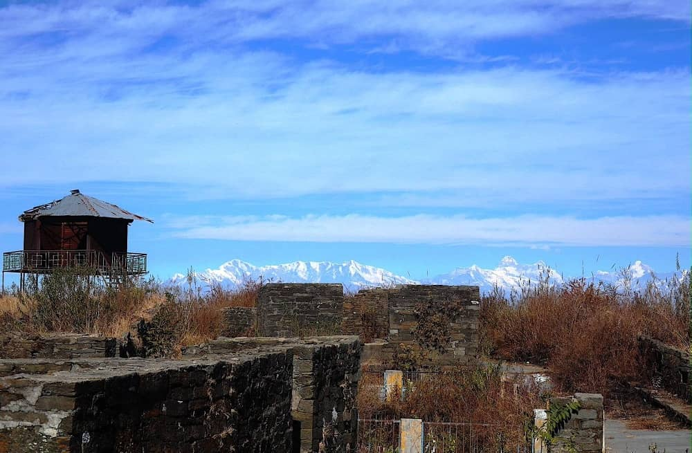 Ruins of Banasur Ka Kila Lohaghat