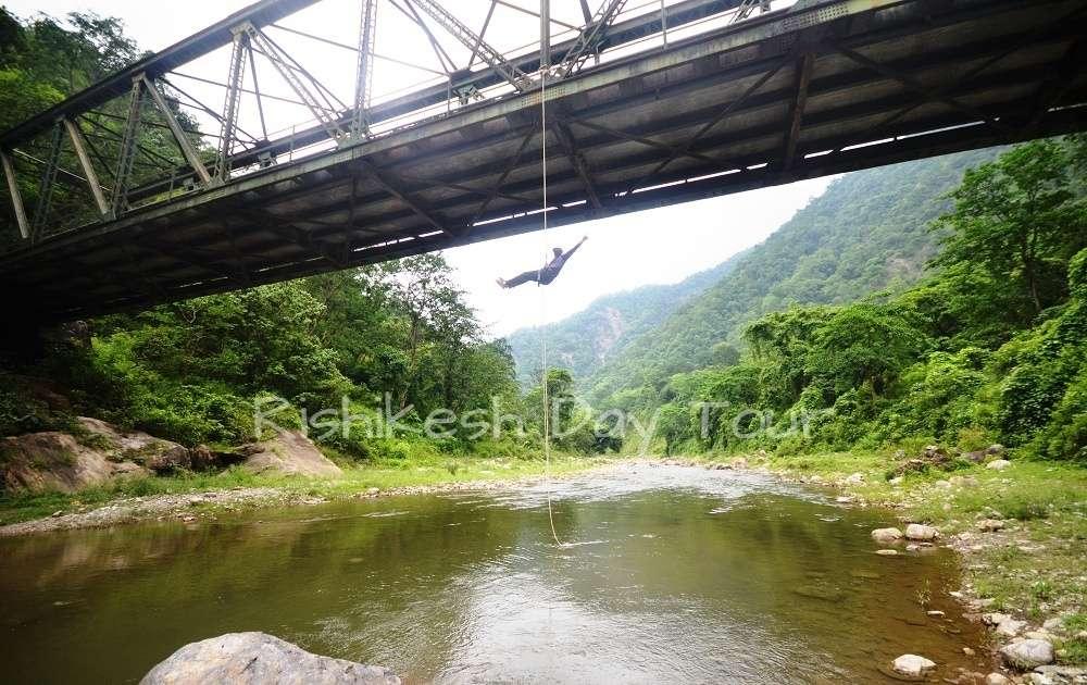Hemal River Abseiling at Ratta Pani in Rishikesh