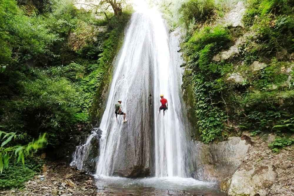 Kimona Waterfall- Chakrata Uttarakhand India- Known For Waterfall Rappelling