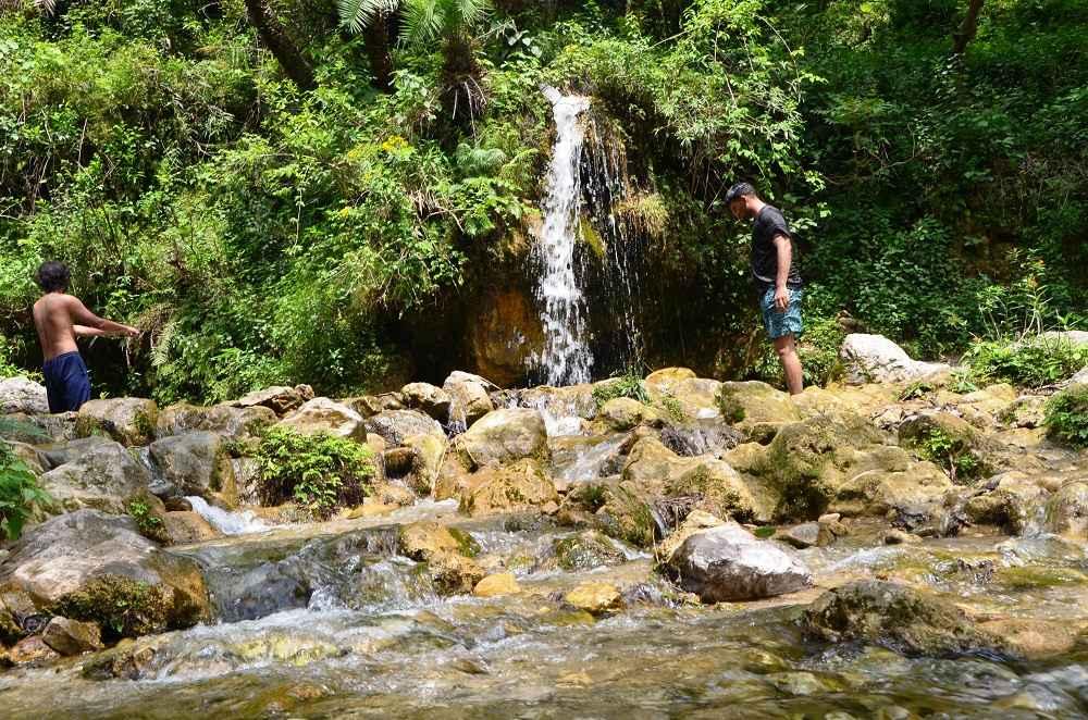 Rudra Waterfall Tapovan Rishikesh
